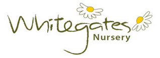 Logo tuincentrum Whitegates Nursery