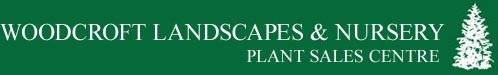Logo tuincentrum Woodcroft Landscapes & Nursery